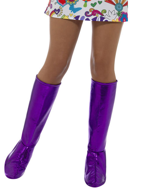 Womens Purple GoGo Boot Covers