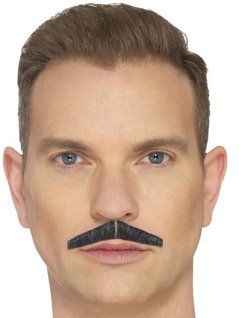 Black The Pencil Moustache