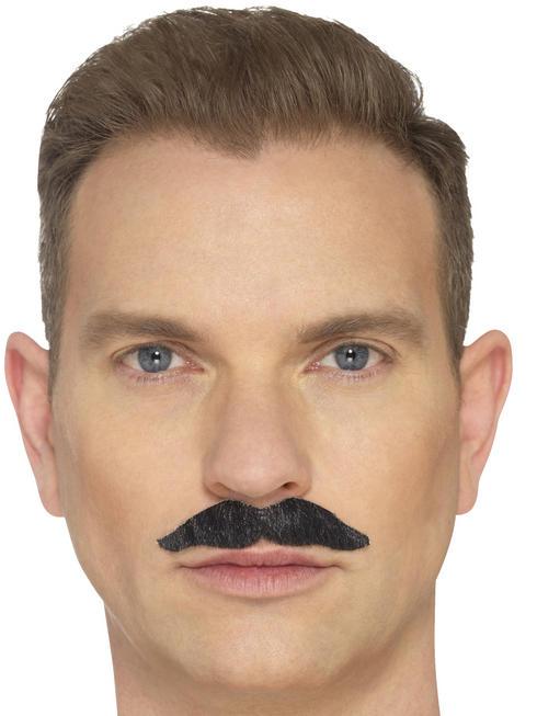 Black The Professional Moustache