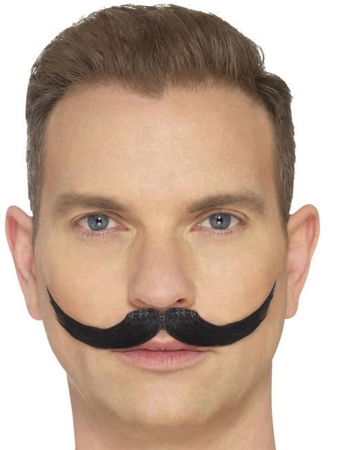 Black The English Moustache