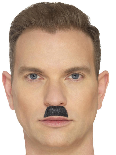 Black The Toothbrush Moustache