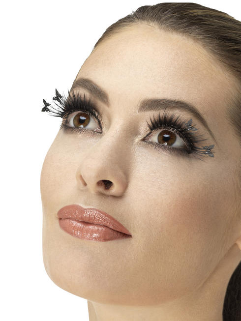 Black Butterfly Top Eyelashes