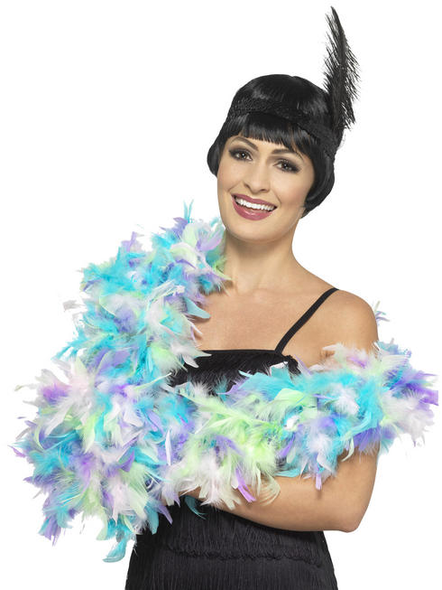 Pastel Deluxe Feather Boa