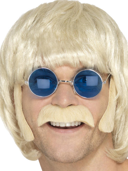 Men's Blonde Hippy Disguise Set
