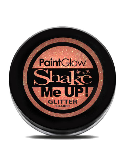Orange Shake Me Up UV Glitter