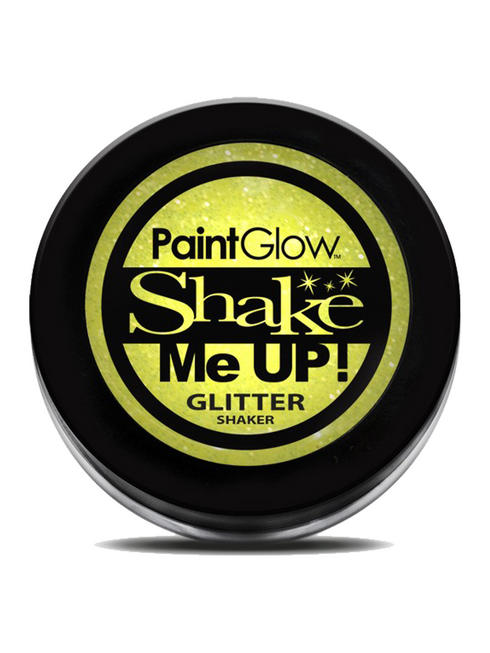 Yellow Shake Me Up UV Glitter