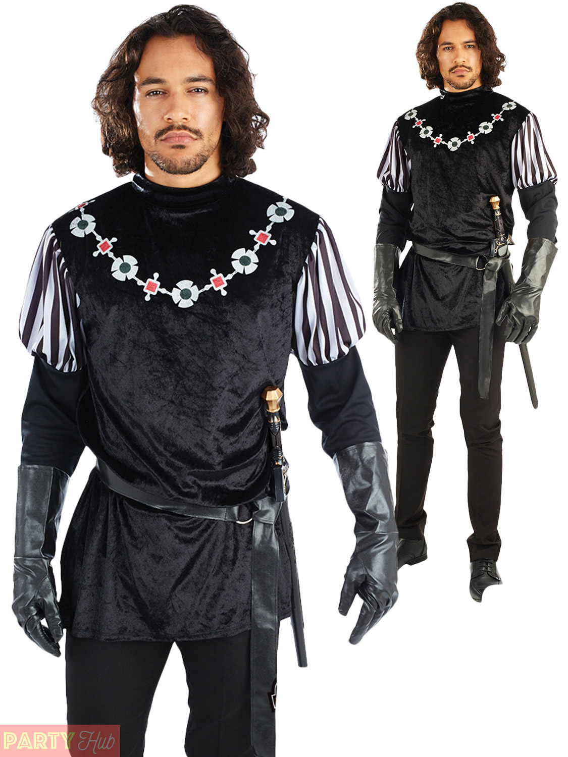 Medieval Clothing Fancy Men