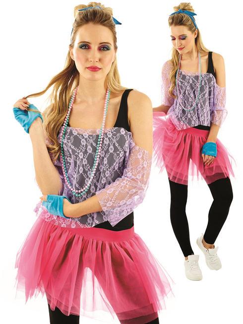 Ladies 80s Lace Tutu Kit
