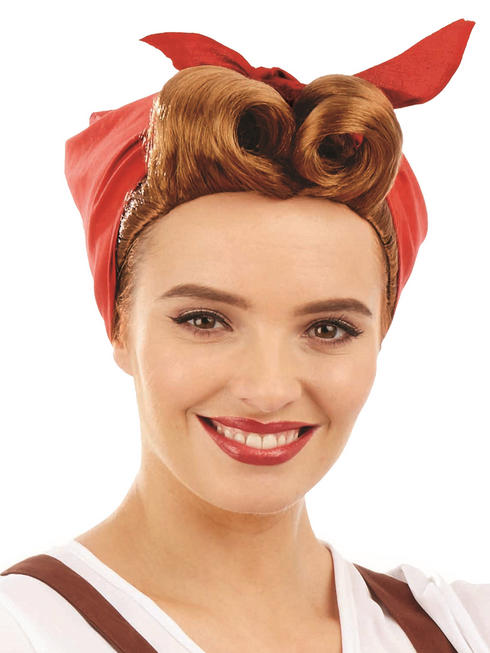 Ladies Land Girl Wig