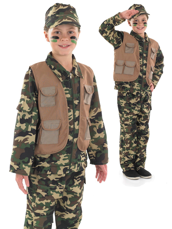 Boy's Desert Army Costume