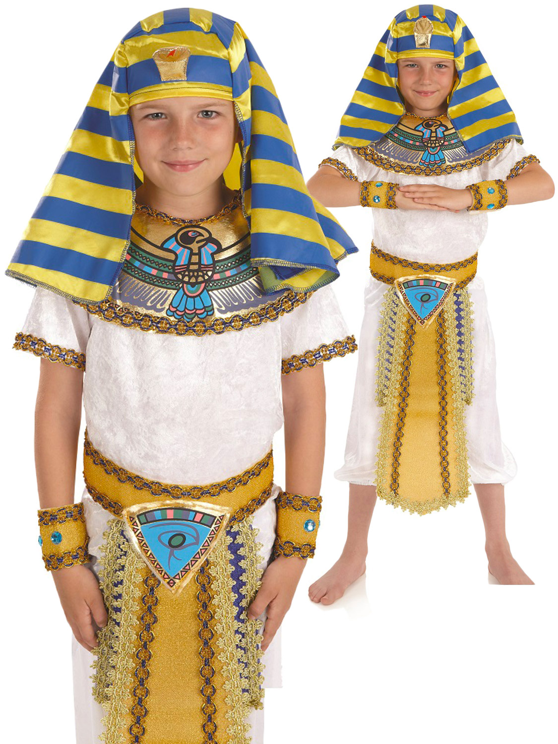 Diy pharaoh costume clublifeglobal egypt costume boy diy craft solutioingenieria Image collections