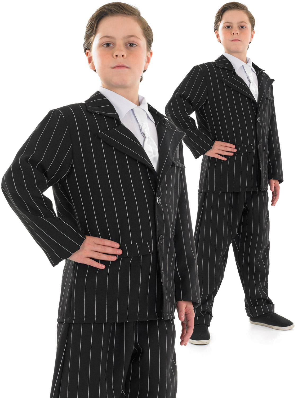 Boy's Little Gangster Costume