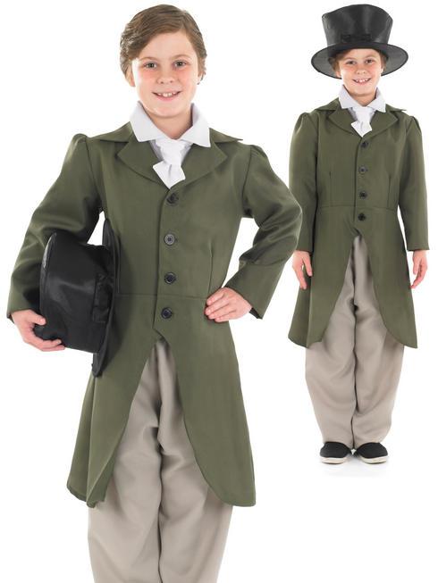 Boy's Regency Boy Costume