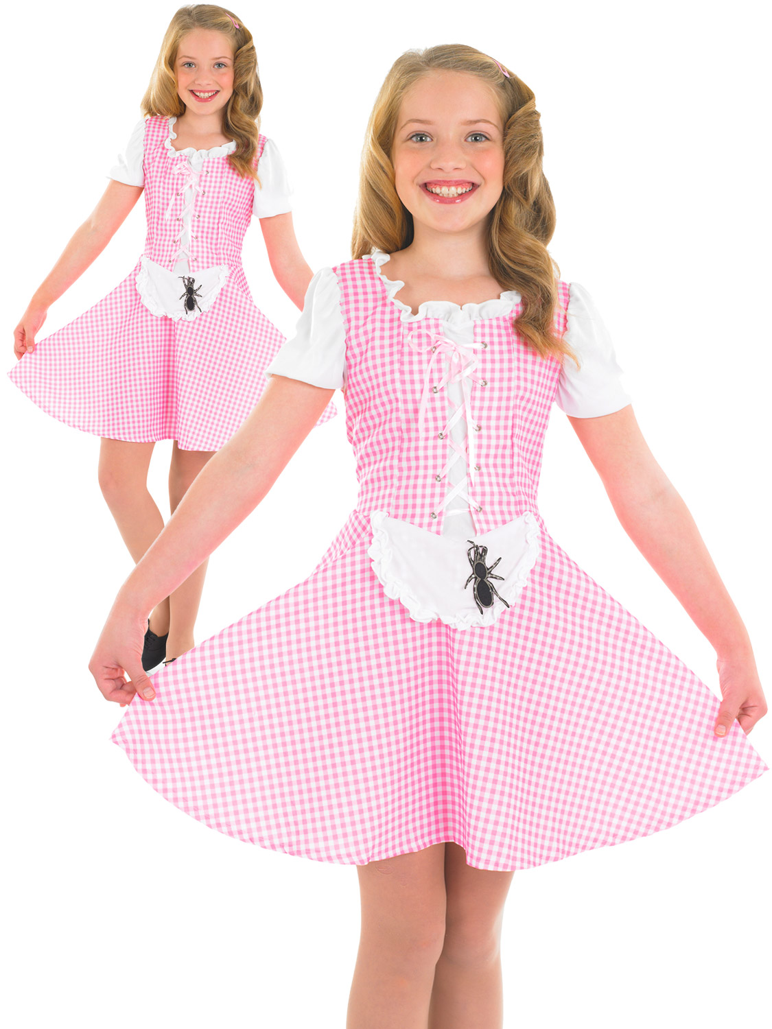 Girl's Miss Muffet Costume