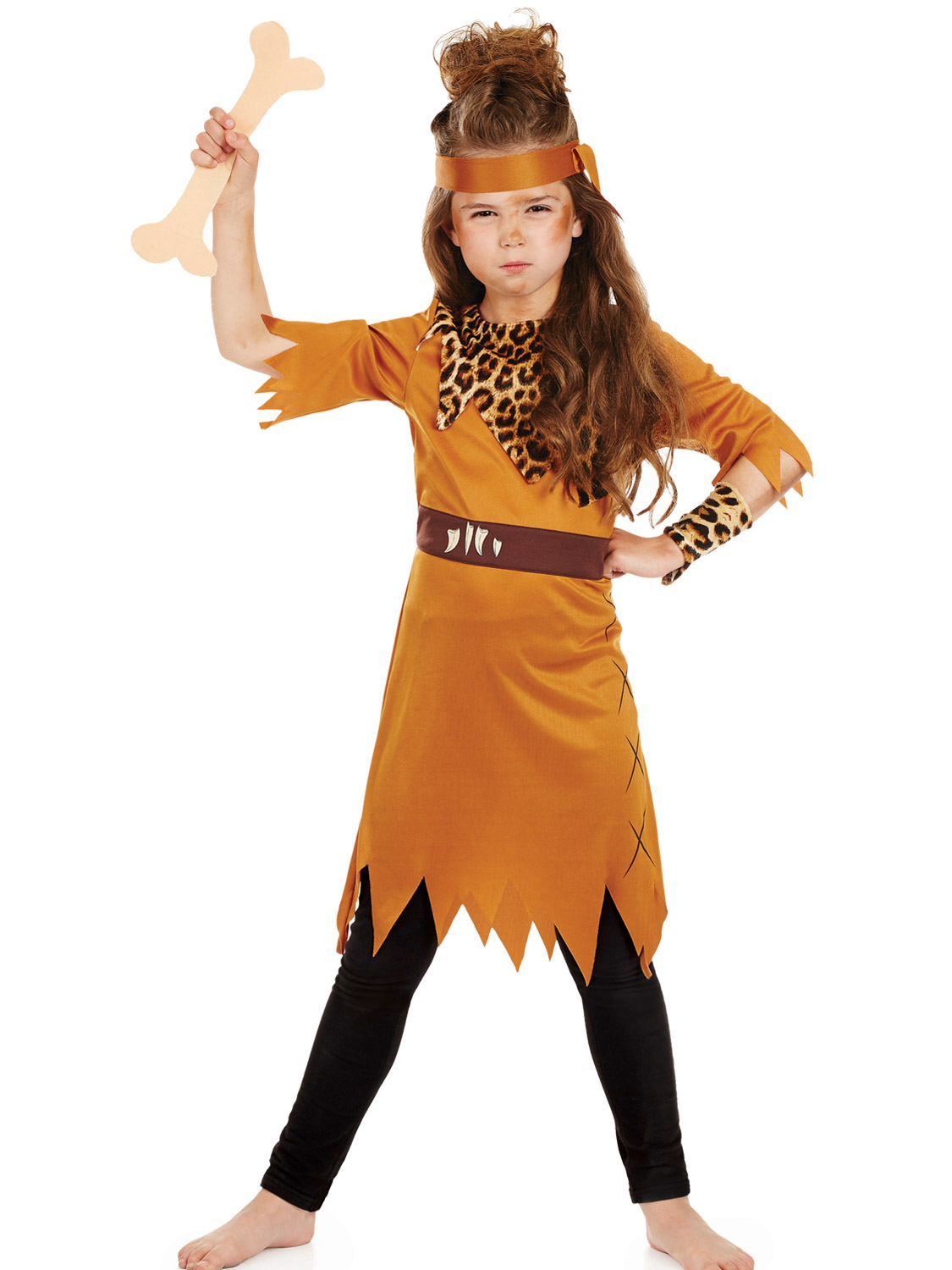 Childs Stone Age Costume  All Children  Fancy Dress Hub-5217