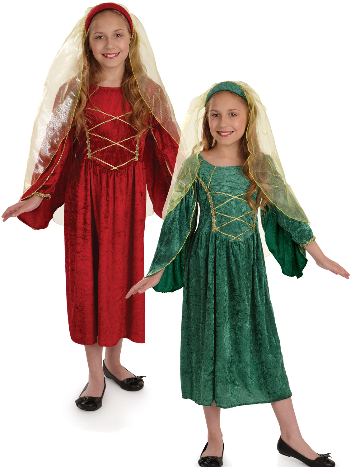 Girl's Tudor Princess Costume