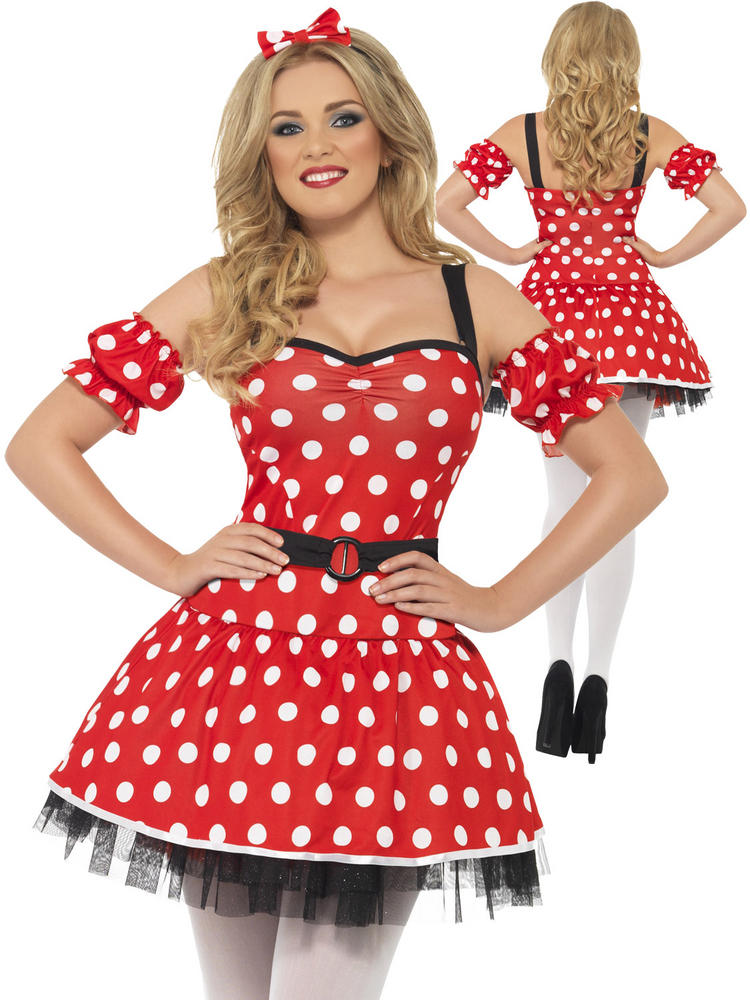 Ladies Madame Mouse Costume
