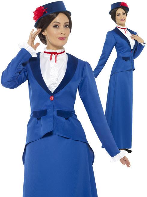 Ladies Victorian Nanny Costume