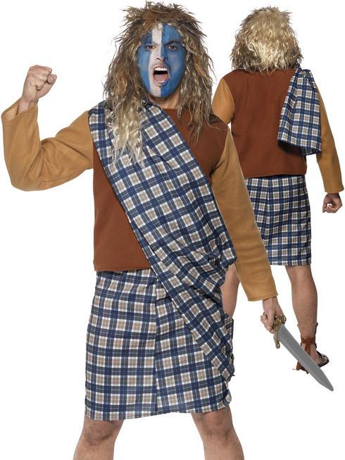 Men's Brave Scotsman Costume