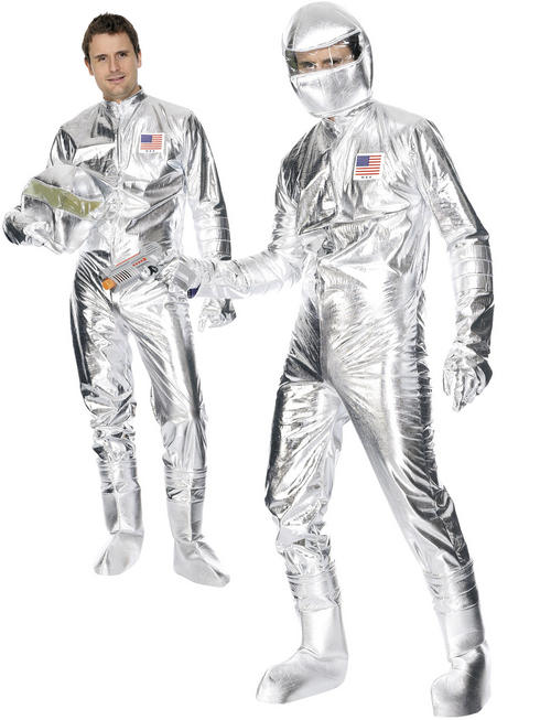 Men's Spaceman Costume