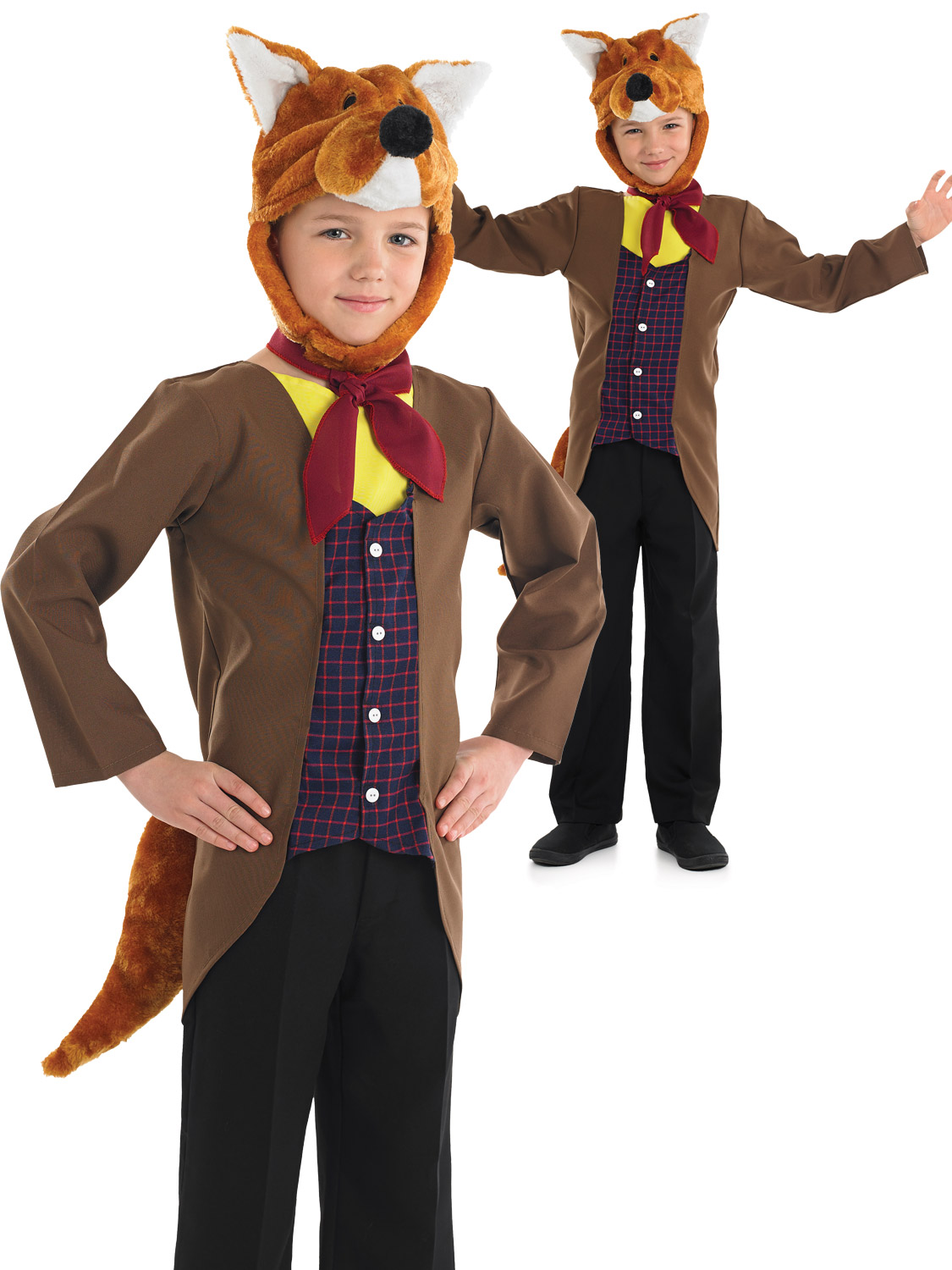 Mr Fox Boys Costume