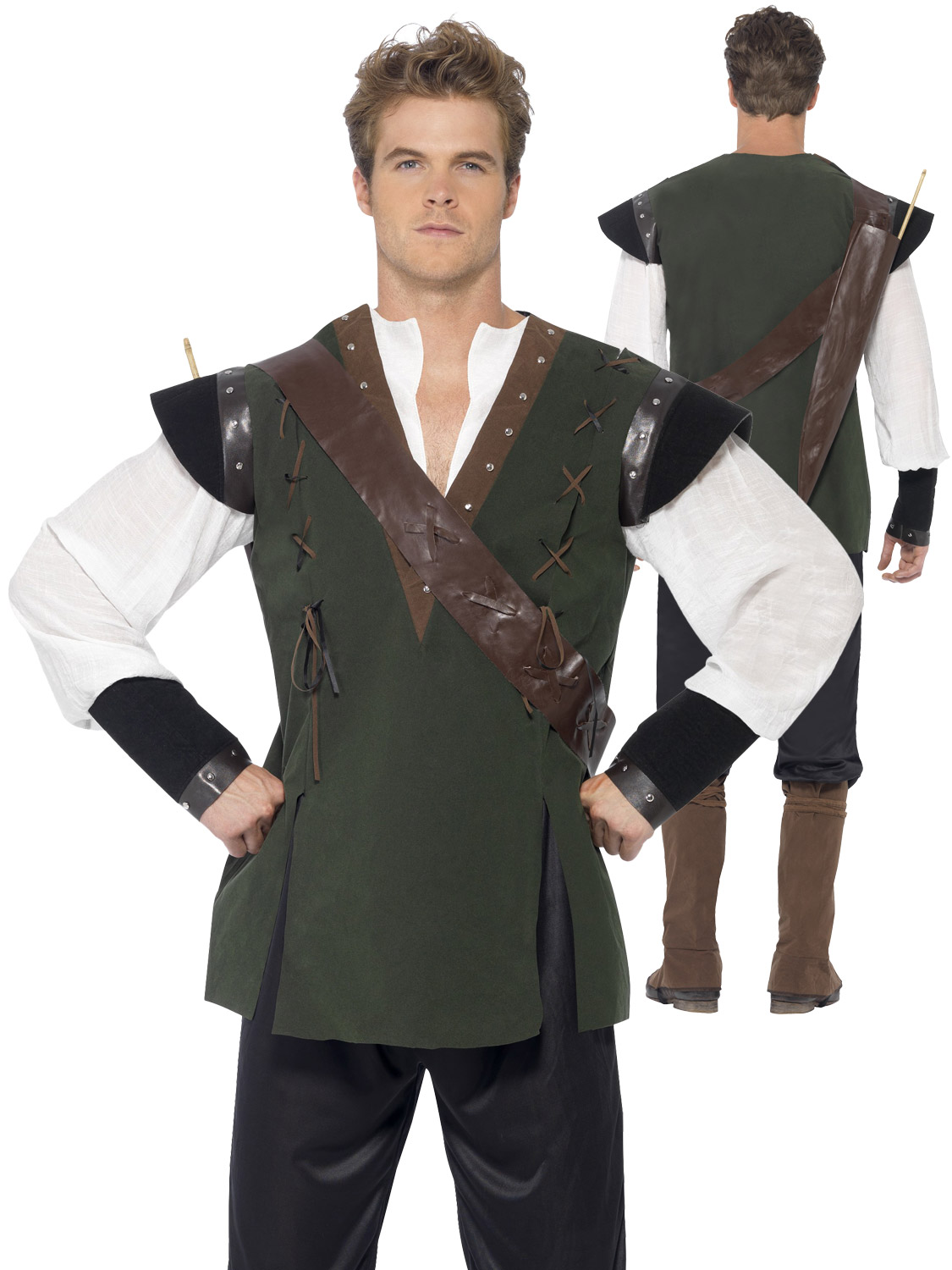 Mens robin hood costume adult medieval fancy dress prince of thieves transform yourself robin hood with this mens prince of thieves costume ideal if you are dressing up for a medieval themed fancy dress party solutioingenieria Images