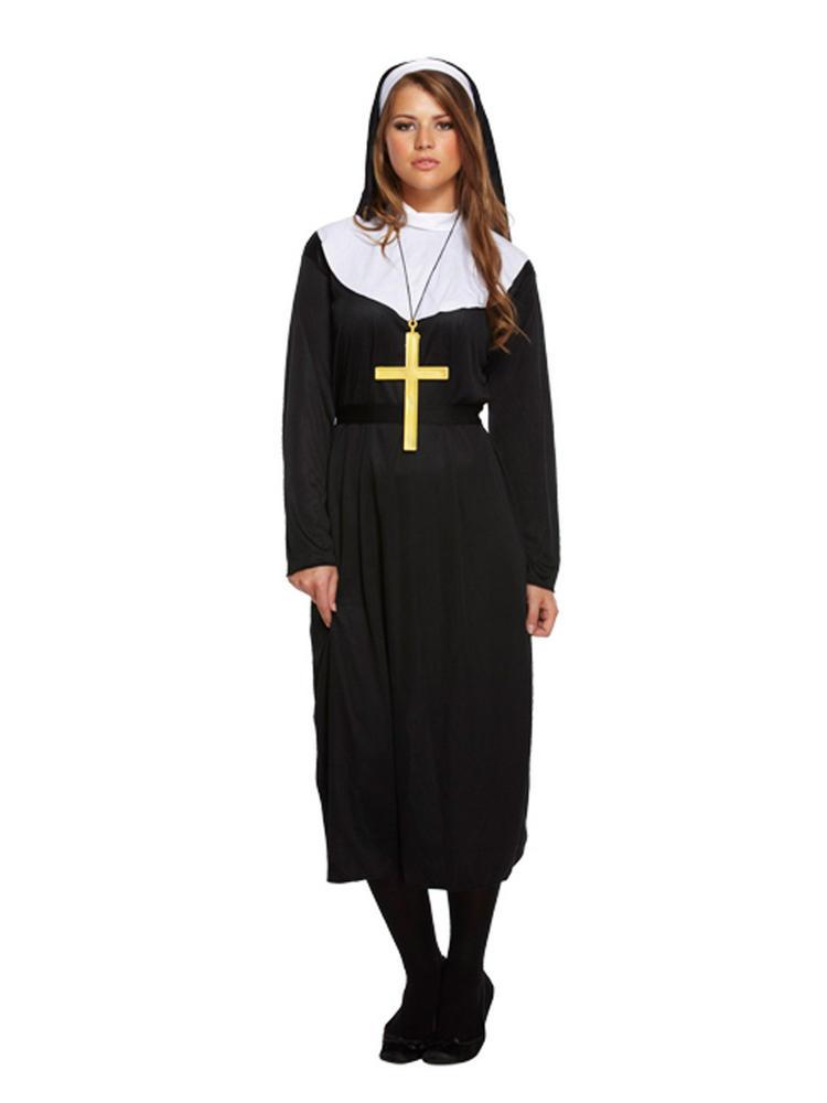 Ladies Nun Habit Costume