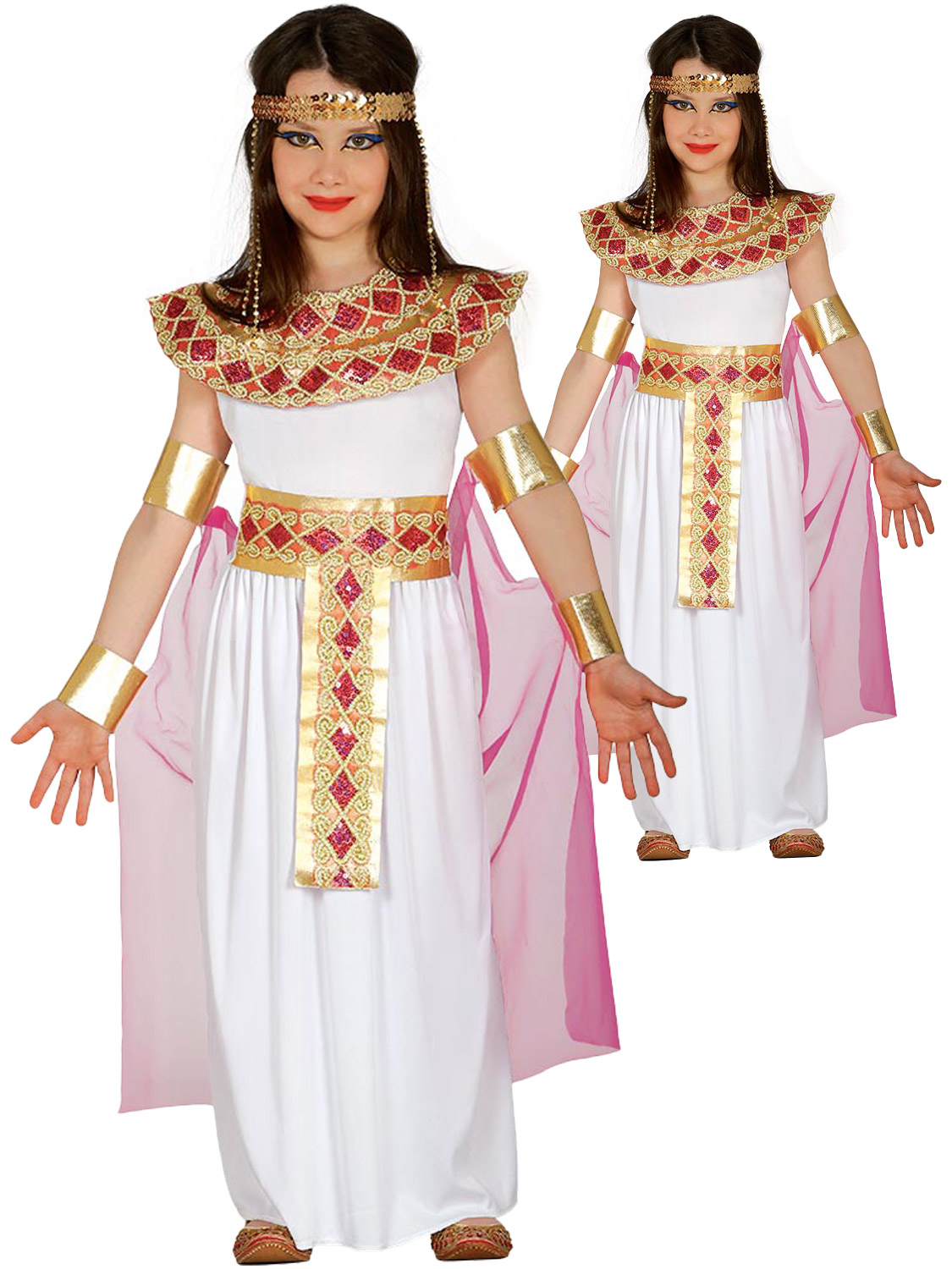 Girls Deluxe Egyptian Costume All Children Fancy Dress Hub