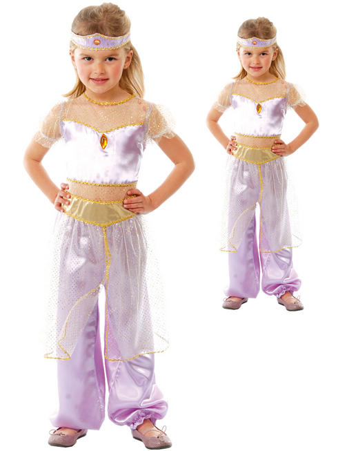 Girls Desert Princess Costume