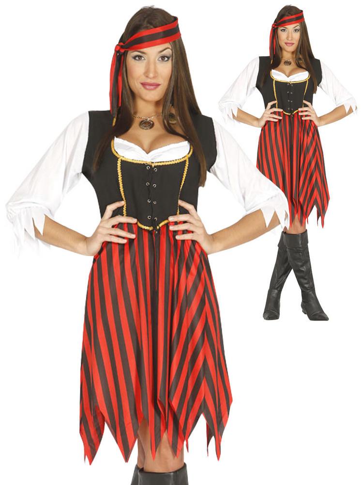 Ladies Deckhand Pirate Costume