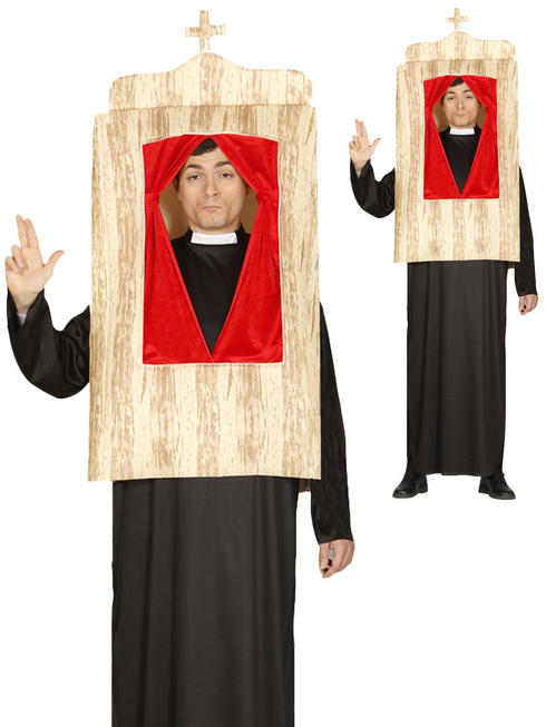 Adults Confession Booth Costume