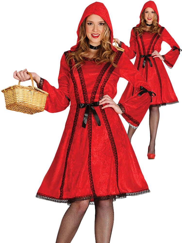 Ladies Red Riding Hood Costume