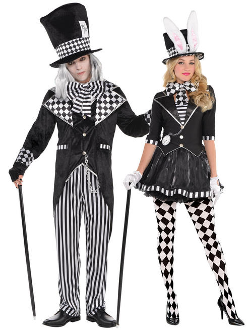 Adults Dark Mad Hatter Costume