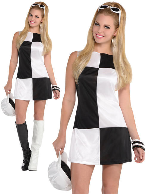 Ladies Mod Girl Costume