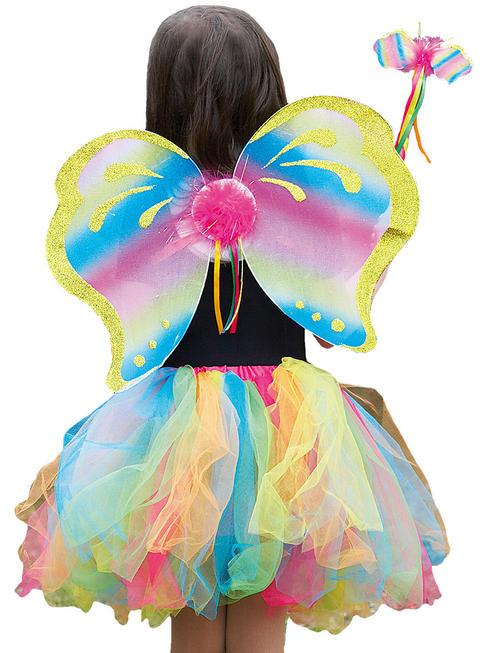Girl's Rainbow Fairy Set