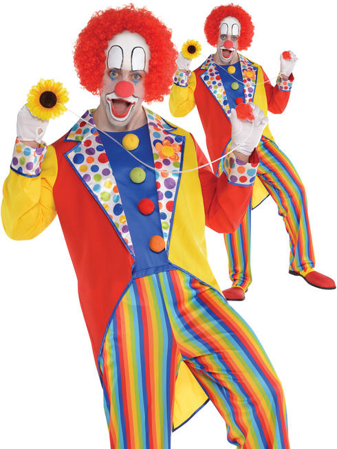 Mens Clown Suit