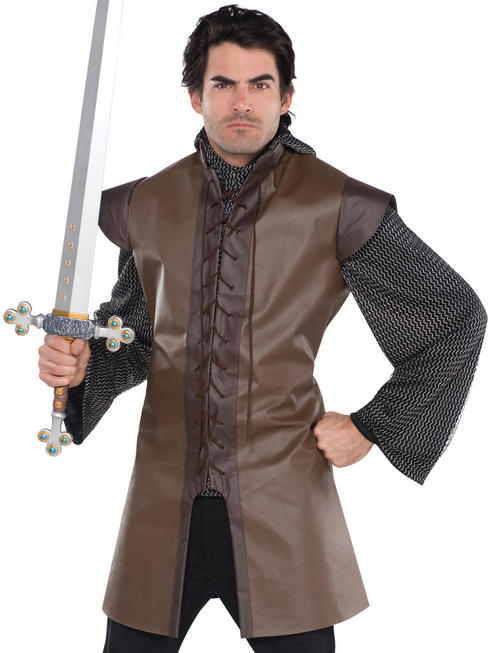Mens Brown Warrior Tunic
