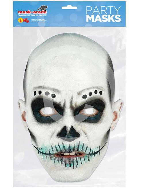 Skull Day of the Dead Mask