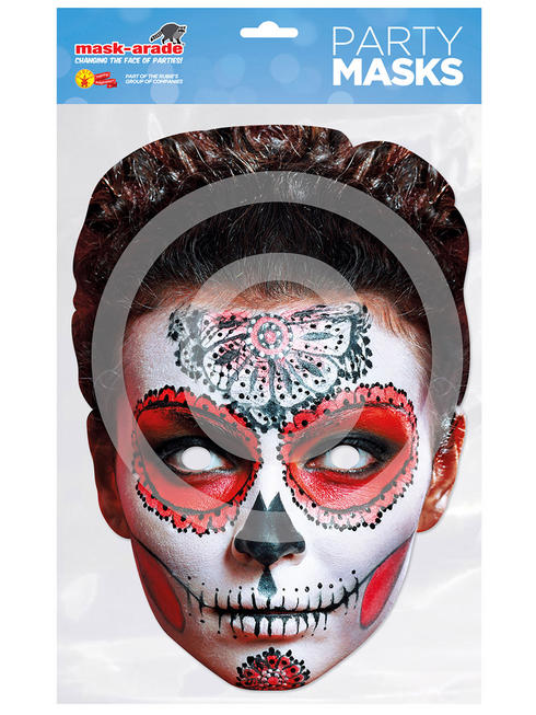 Butterfly Day of the Dead Mask