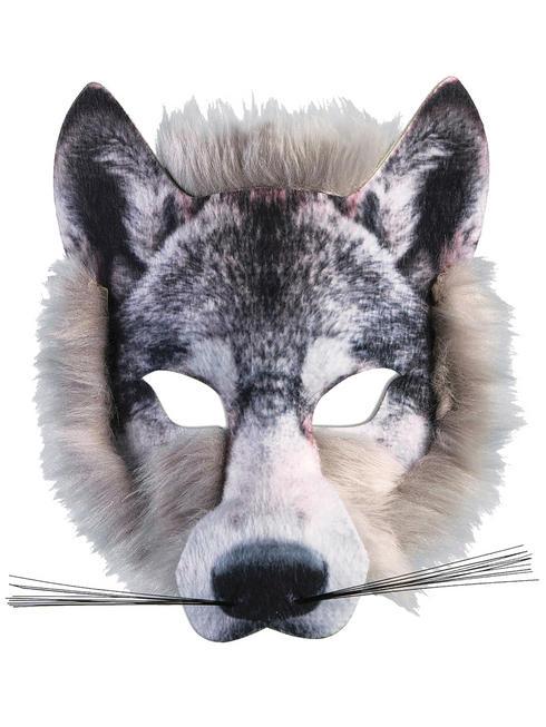 Wolf Realistic Fur Mask