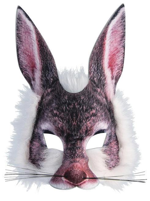 Bunny Realistic Fur Mask