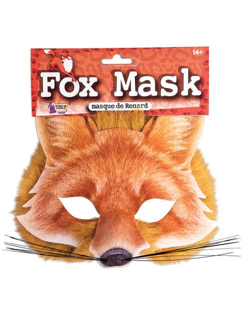 Fox Realistic Fur Mask
