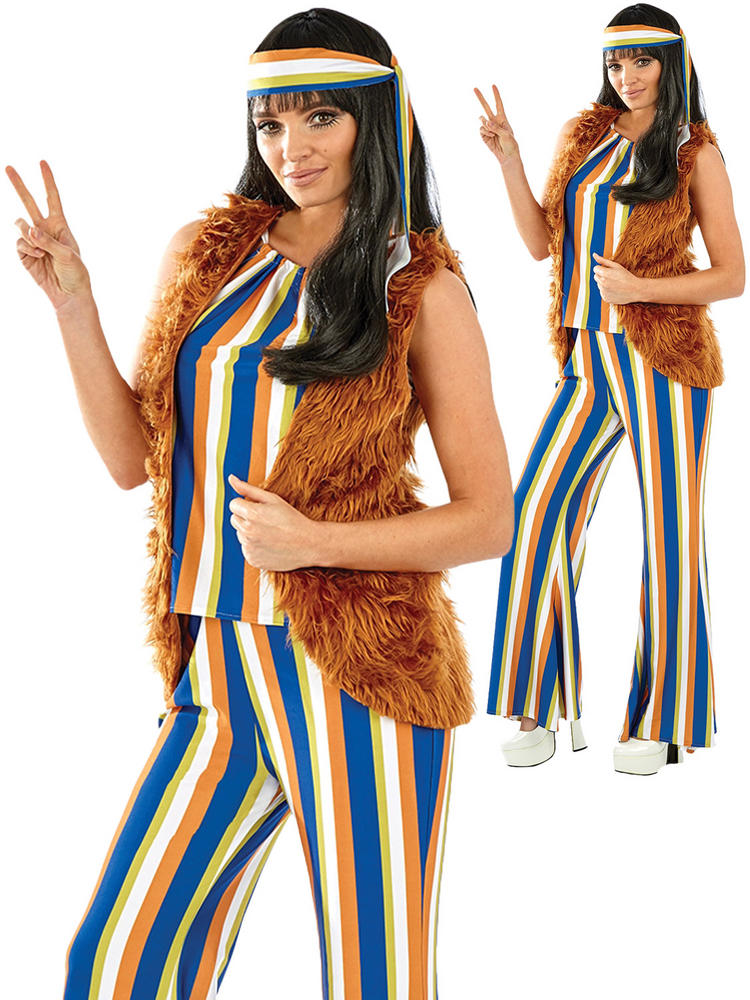 Ladies 60s Hippie Singer Costume