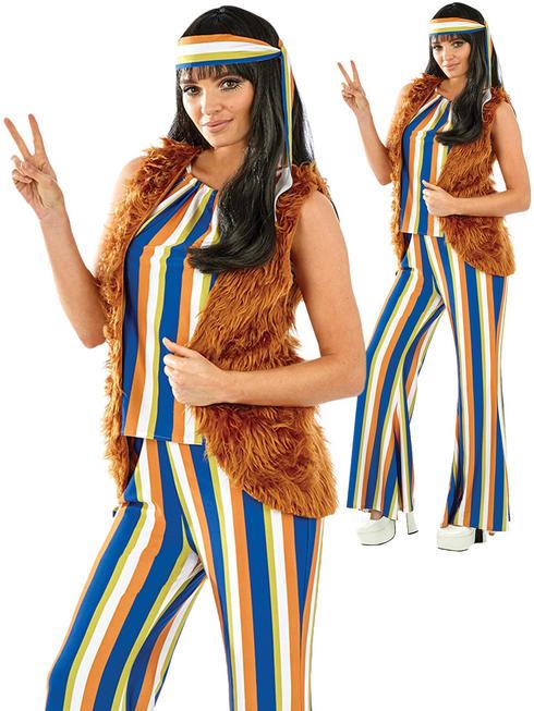 Ladies 60s Hippie Singer Costume
