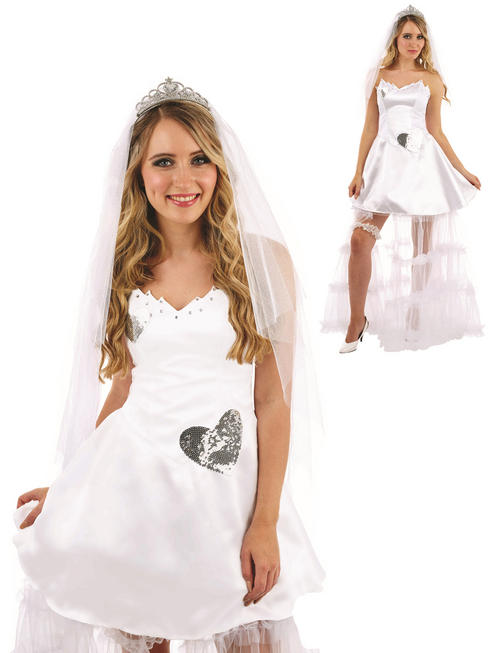 Ladies Bride Costume