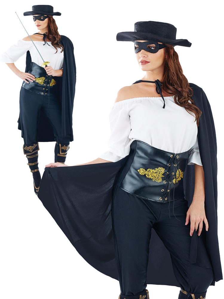 Ladies Masked Senorita Costume