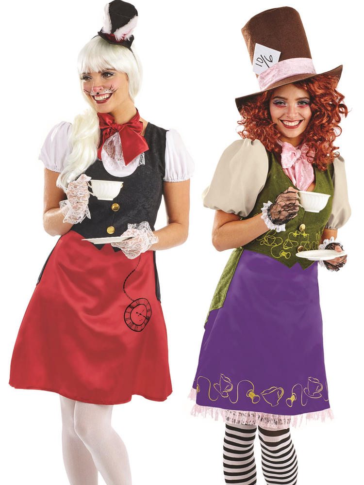 Ladies Miss Rabbit Hatter Costume