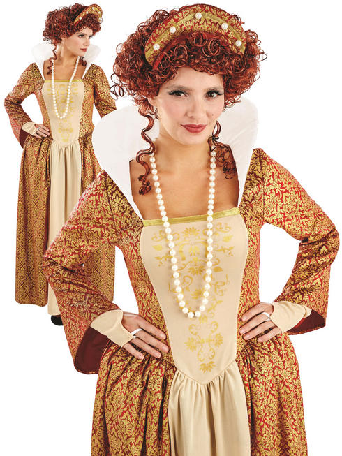 Ladies Tudor Queen Costume