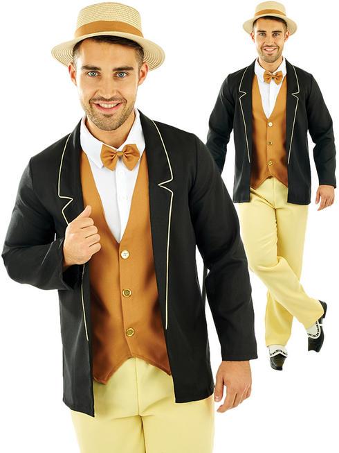 Men's 20s Gentleman Costume