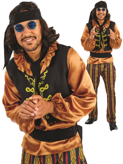 Men's 60s Rock Star Costume